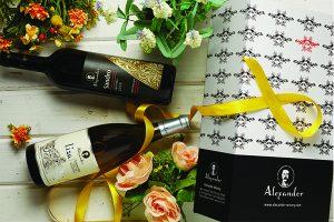 מארז יין לבן לחג